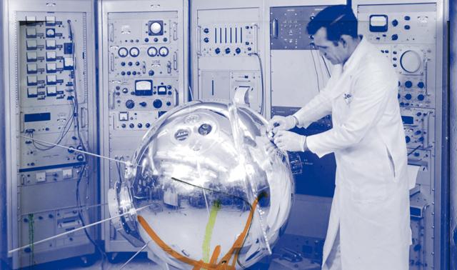 Explorer XVII Satellite