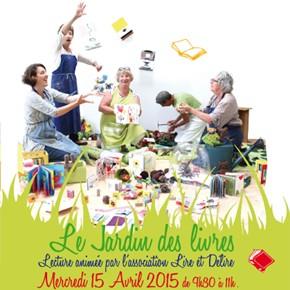 Biberon Littéraire : Le Jardin des livres > 15 avril 2015
