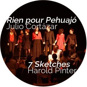 Soirée théâtre / Mardi 26 mai - 19h30-22h30